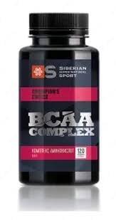 Комплекс аминокиселини BCAA - Siberian Super Natural Sport