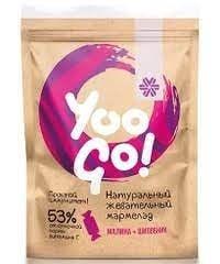 Yoo Gо - Дъвчащи желирани бонбонки с малина и шипка