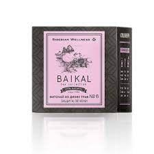 Фиточай от диви билки № 6 (Защита на черния дроб) - Baikal Tea Collection