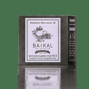 Фиточай от диви билки № 5 (Комфортно храносмилане) - Baikal Tea Collection
