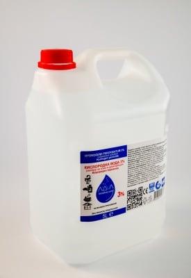 Hydrogen peroxide 3% - 5L