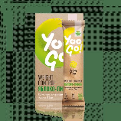 Yoo Go - Напитка за регулиране на телесното тегло (ябълка-лимон)