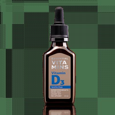 Витамин D3 - Essential Vitamins, в екстра пречистено МСТ-масло.