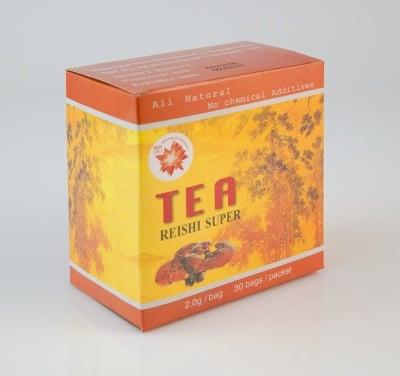 Китайски супер чай с гъбата Рейши