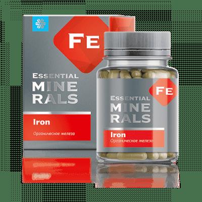 Органично желязо - Essential Minerals