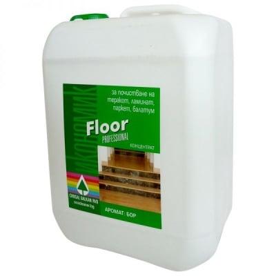 Floor  – препарат за почистване и дезинфекция на всички видове подови настилки 5 Литра