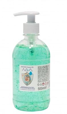 ADVA Max Cleaner hand sanitizer gel - 500 ml with a pump