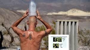 Температурен световен рекорд от 54.4 градуса беше регистриран в калифорнийската пустия Мохаве.