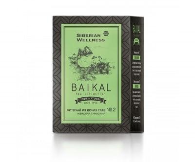 Фиточай от диви билки №2 (Женска хармония) - Baikal Tea Colection