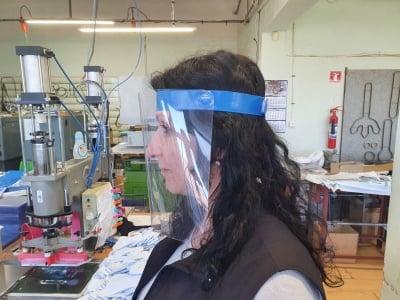 Предпазeн шлем за лице от PVC за защита от COVID-19