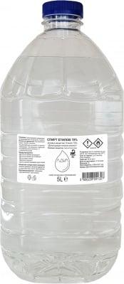 Спирт 70% Денатуриран Етилов Алкохол - 5 L