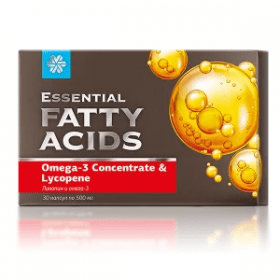 Ликопен и Омега-3 - Тримегавитал/Essential Fatty Acids
