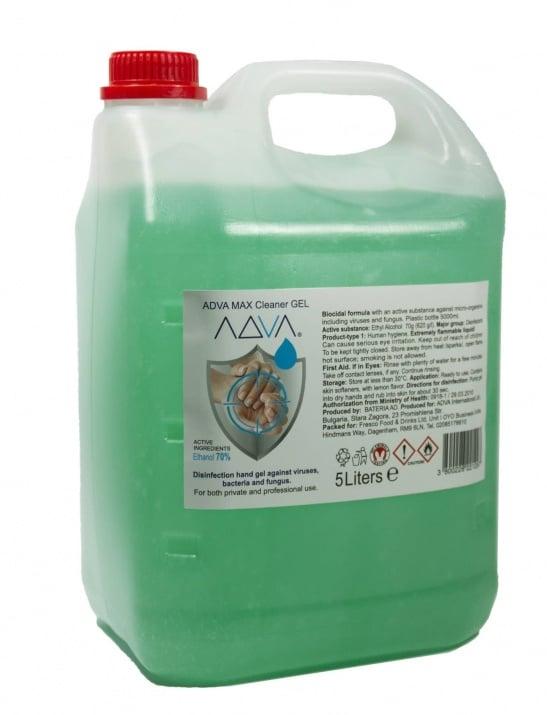 ADVA Hand Sanitiser Gel - 5 L