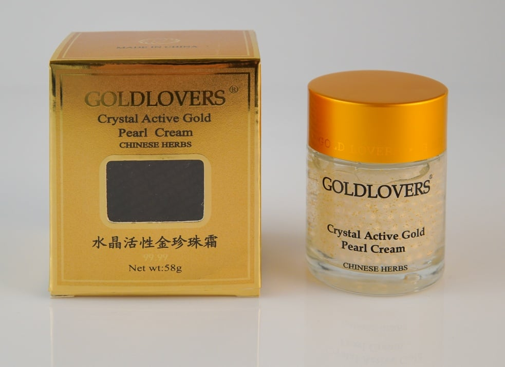 Crystal Active Gold Pearl Cream