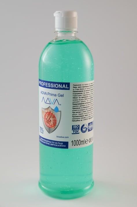 Дезинфекциращ гел за ръце ADVA Prima Gel - 1000ml