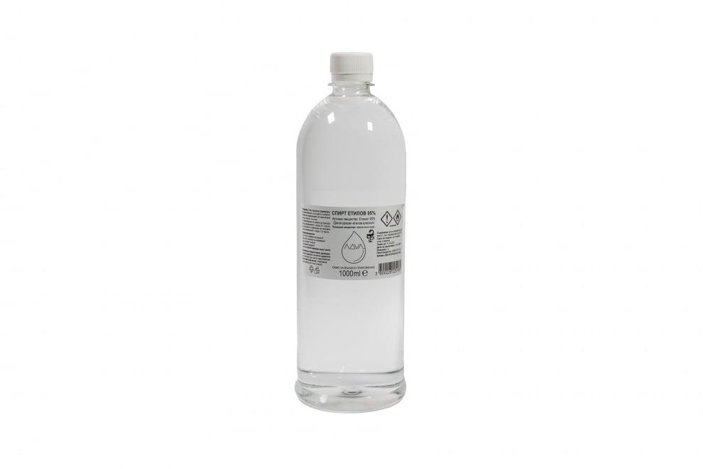 Спирт 95% Денатуриран Етилов Алкохол - 1 L