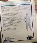 Защитен комбинезон Стандарт Standard EN 14605, ISO 13982-1