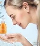 Подмладяващ гел Ашагтай за измиване на лице с комплекс омега 3, 6 и 9 мастни киселини