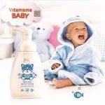 Сапун-пяна Витамама BABY с вода от лайка 0+
