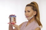 ADVA Face mask / AFM / - Protective face mask /shield/, for your protection from COVID-19, reusable, for everyday use.