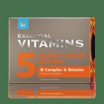 Бетаин и В-витамини - Essential Vitamins